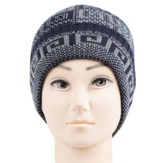 Bonjour Mens Navy Woolen Knitted Beanie Cap RMW6Z14014B