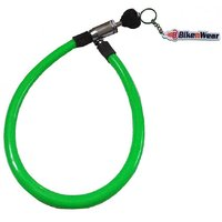 ERCO King Multipurpose Green Cable Lock Length - 23 Inches