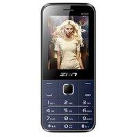 ZEN M85 WOW Dual SIM Feature Phone (Black-Blue)