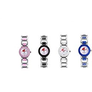 Arum Combo Of Four  Watches For GirlsANC-005