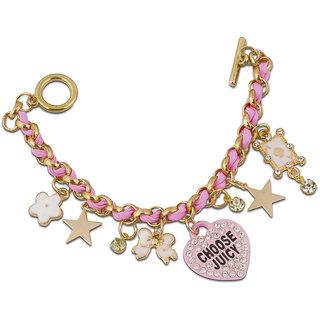 The Bling Stores Multicolor Alloy Oxidised Bracelets for Women
