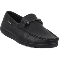 Lee Cooper Men's Black Slip On Formal Shoes