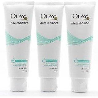 3 X Olay White Radiance Cream Cleanser Facial Foam 100g