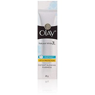 Olay Natural White Light Instant Glowing Fairness Skin Cream, 20gm