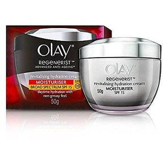 Olay Regenerist Advanced Anti-Aging Revitalising Hydration Skin Cream (Moisturizer) SPF 15, 50g