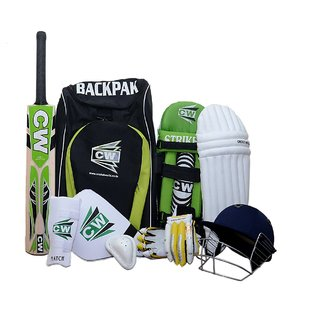 CW Junior Cricket Kit With Accessories Size No.5 (Ideal for 9-10 Years Child)