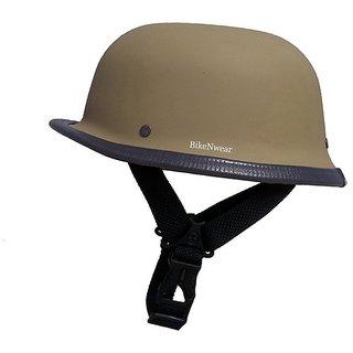 BikenWear German Style Desert Storm Half Helmet