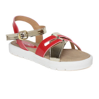 Vendoz Women Red Sandals ]