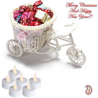Smart cane cycle Basket with Home made Chocolates