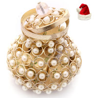 Christmas Gifts Chocolates- Golden Pearl Chocolate Basket