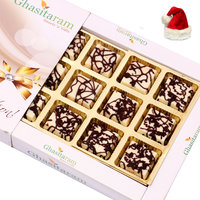 Christmas Gifts Chocolates-Marble Chocolate Box (12 pcs)