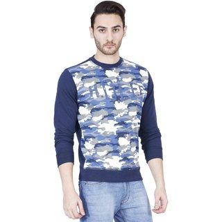 Lee Blue Long Sleeve Mens Sweatshirt