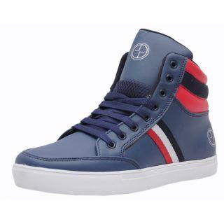 Black Tiger Men Blue Lace-up Casual Shoes