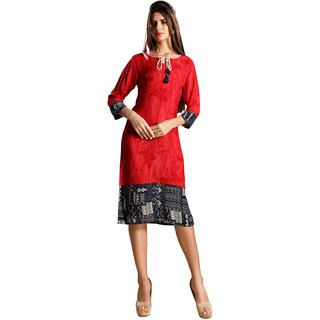 Occeanus Execlusive And Fashionable Rayon  Kurtis