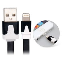 3 M Data Transmission & Charging Flat Cable For IPhone 5, IPad Mini, IPod Touch