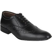 Guava Men Black Lace-up Formal Shoes - 101652404