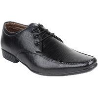 Guava Men Black Lace-up Formal Shoes - 101652425