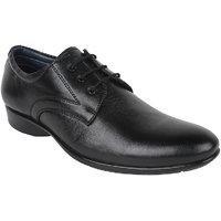 Guava Men Black Lace-up Formal Shoes