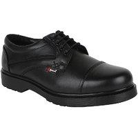 Guava Men Black Lace-up Formal Shoes - 101652858