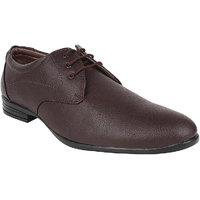 Hirolas Men Brown Lace-up Formal Shoes