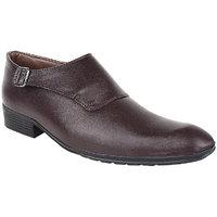 Hirolas Men Brown Slip On Formal Shoes
