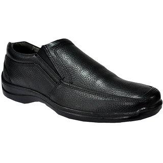 Allen Cooper AC-33197 Black Mens Leather Formal Shoes