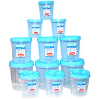 CHETAN 12 PC SET TWIST LOCK KITCHEN CONTAINER @ RPS.1199.00 FREE DELIVERY