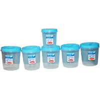 CHETAN 6 PC 1 LTR TWIST LOCK CONTAINER @ RS.599/= DELIVERY FREE