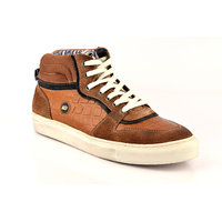 ID Men's Tan Lace Up Casual Shoes - 101661787