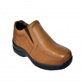 Allen Cooper AC-33197 Tan Mens Leather Formal Shoes