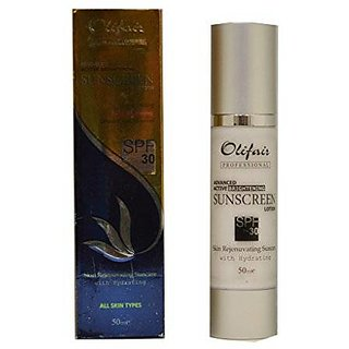 Olifair Advanced Active Brightening Sunscreen Lotion Spf 30