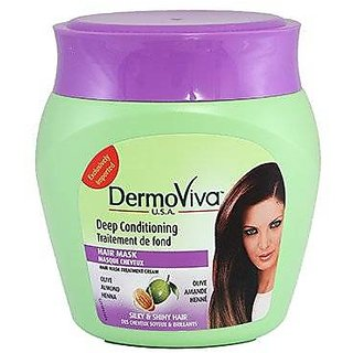 Dermoviva Usa Hair Mask Cream Deep Conditioning 500Gm