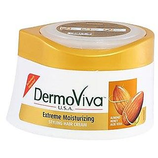 Dermoviva Usa Hair Cream Extreme Moisturising 140Ml