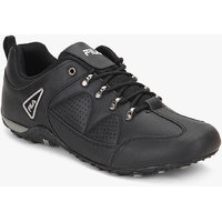 Fila  New Percoso Iii Men's Black Lace-up Casual Shoes