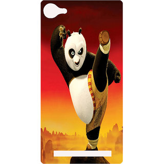 Amagav Printed Back Case Cover for Lyf Wind 1 155LfyWind1