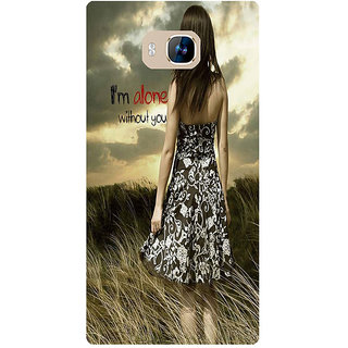 Amagav Printed Back Case Cover for Lyf Wind 2 234LfyWind2