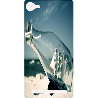 Amagav Printed Back Case Cover for Lava X17 583LavaX17
