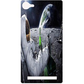 Amagav Printed Back Case Cover for Lava X17 201LavaX17