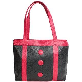D-ROCK Black Solid/Plain Casual Handbag
