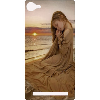 Amagav Printed Back Case Cover for Lyf Wind 1 115LfyWind1