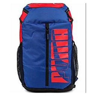 Puma Blue Back Padding  Backpack