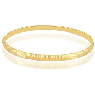 Vivaaha Rhodium Plated Yellow Sterling Silver Bangle For Women-GF22914