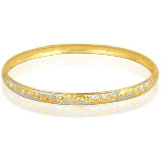 Vivaaha Rhodium Plated Yellow Sterling Silver Bangle For Women-GF24045