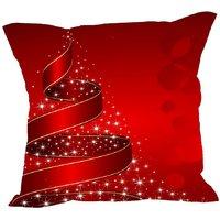 meSleep Merry Christmas Cushion Covers in Digital Print