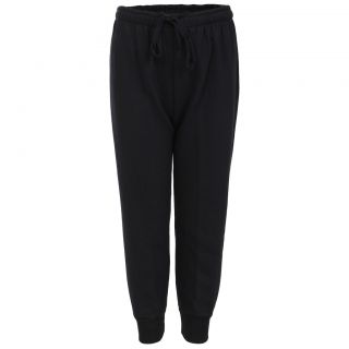 Haig-Dot Black Close Bottom Track Pant For Girls
