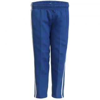 Haig-Dot Blue Open Bottom Track Pant For Girls