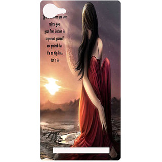 Amagav Printed Back Case Cover for Lava A76 236LavaA76