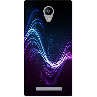 Amagav Printed Back Case Cover for Lyf Wind 3 506LfyWind3