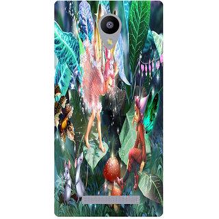 Amagav Printed Back Case Cover for Lyf Wind 3 152LfyWind3