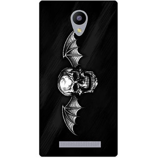 Amagav Printed Back Case Cover for Lyf Wind 3 530LfyWind3